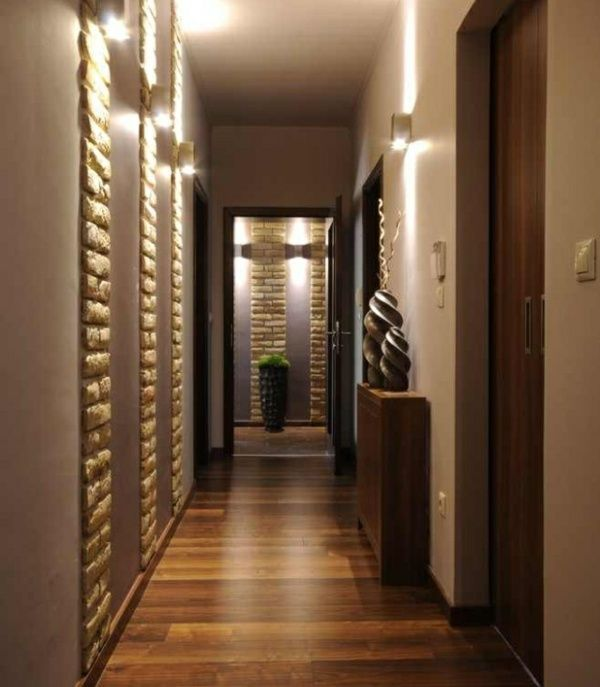D co couloir am nagement en 30 photos design moderne couloir et design - Amenagement couloir entree ...