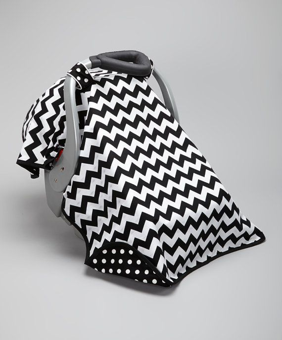 Adorable Car Seat Canopy and Cover by UniqueCanopies on Etsy, $35.00