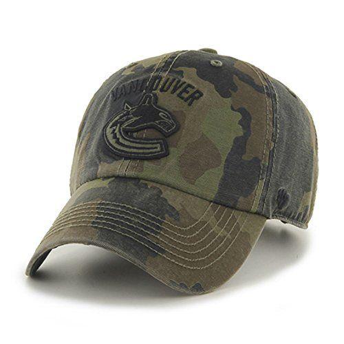 0d2d23211c7 Vancouver Canucks Camouflage Caps