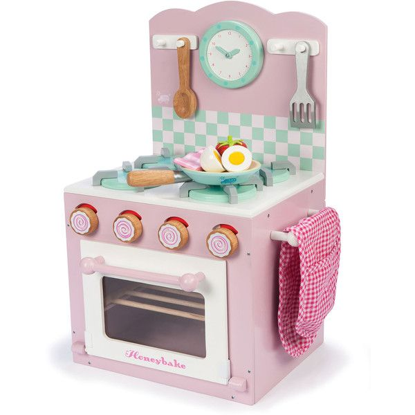 Le Toy Van Kitchen Play Set 134 Liked On Polyvore Featuring Kids Accessories Toys And Pink With Images Kids Wooden Kitchen Toy Kitchen Wooden Play Kitchen