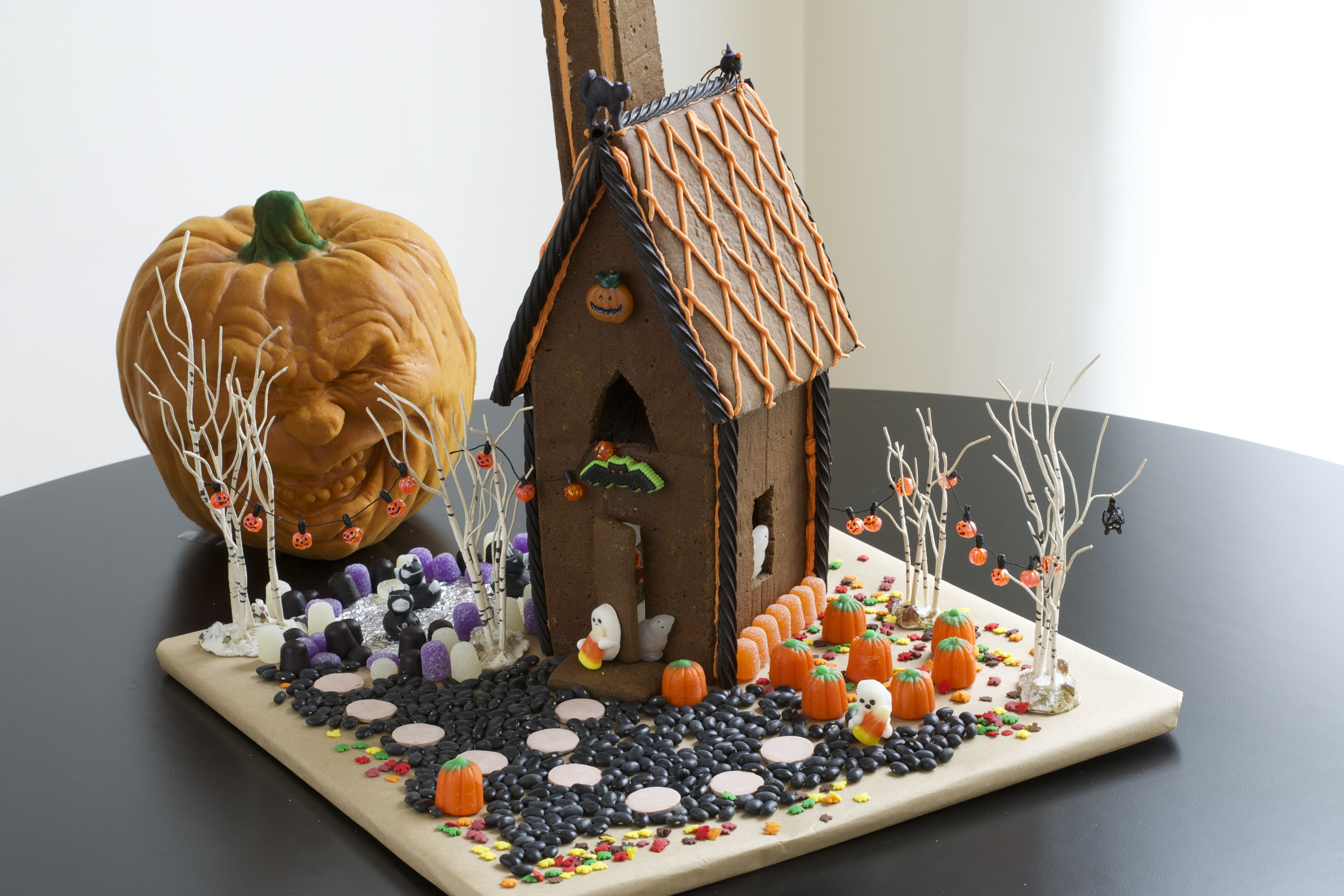 How To Decorate A Halloween Gingerbread House Halloween
