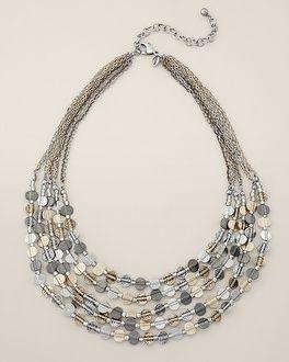 Chico's Asha Short Necklace #chicos