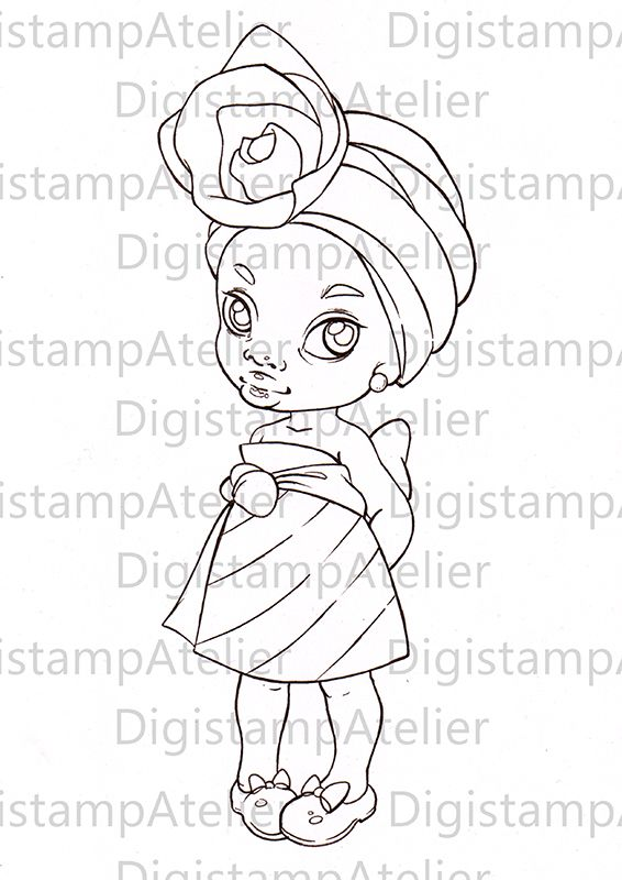 Colouring Page Avaialble on my Etsy Store: DigistampAtelier ...