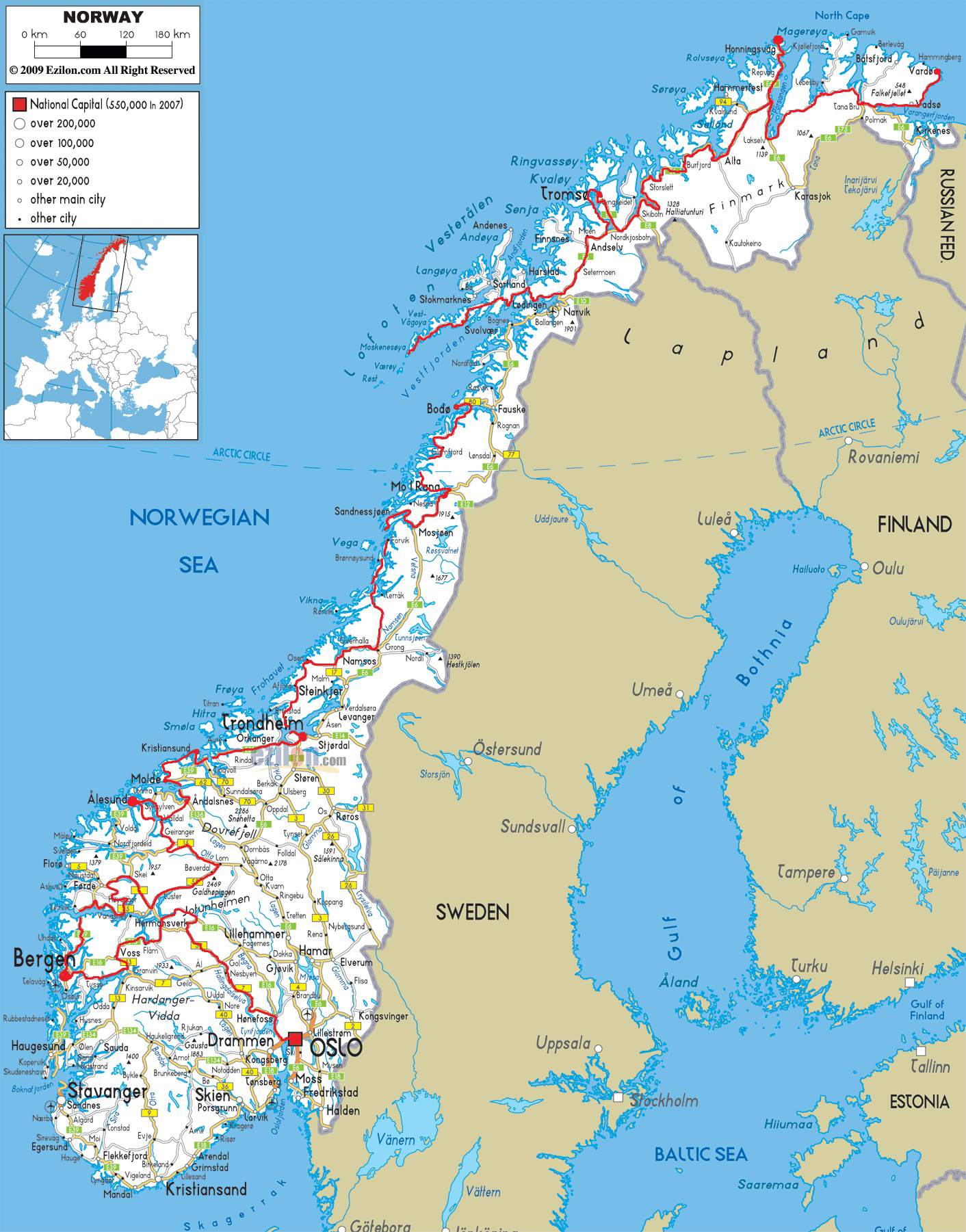 Norway map Maps Pinterest Norway map Destinations and Vacation