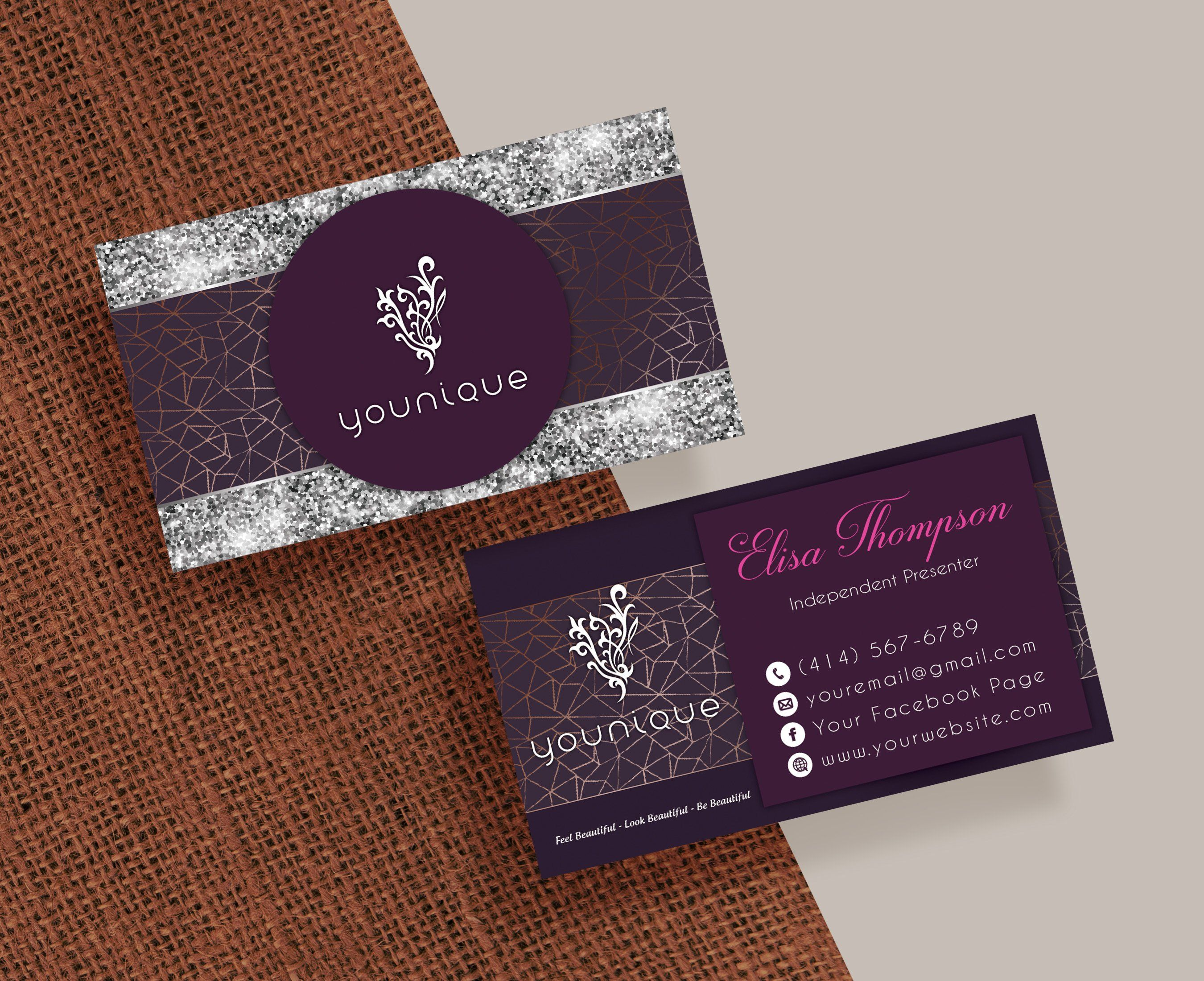 Younique Business Card Personalized Younique Business Card Yq10 Toboart Younique Business Cards Younique Business Younique