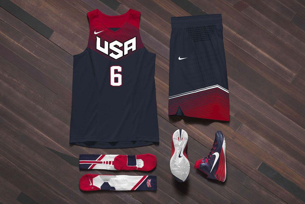 Nike Basketball Unveils 2014 USA Basketball Uniforms (1 ...