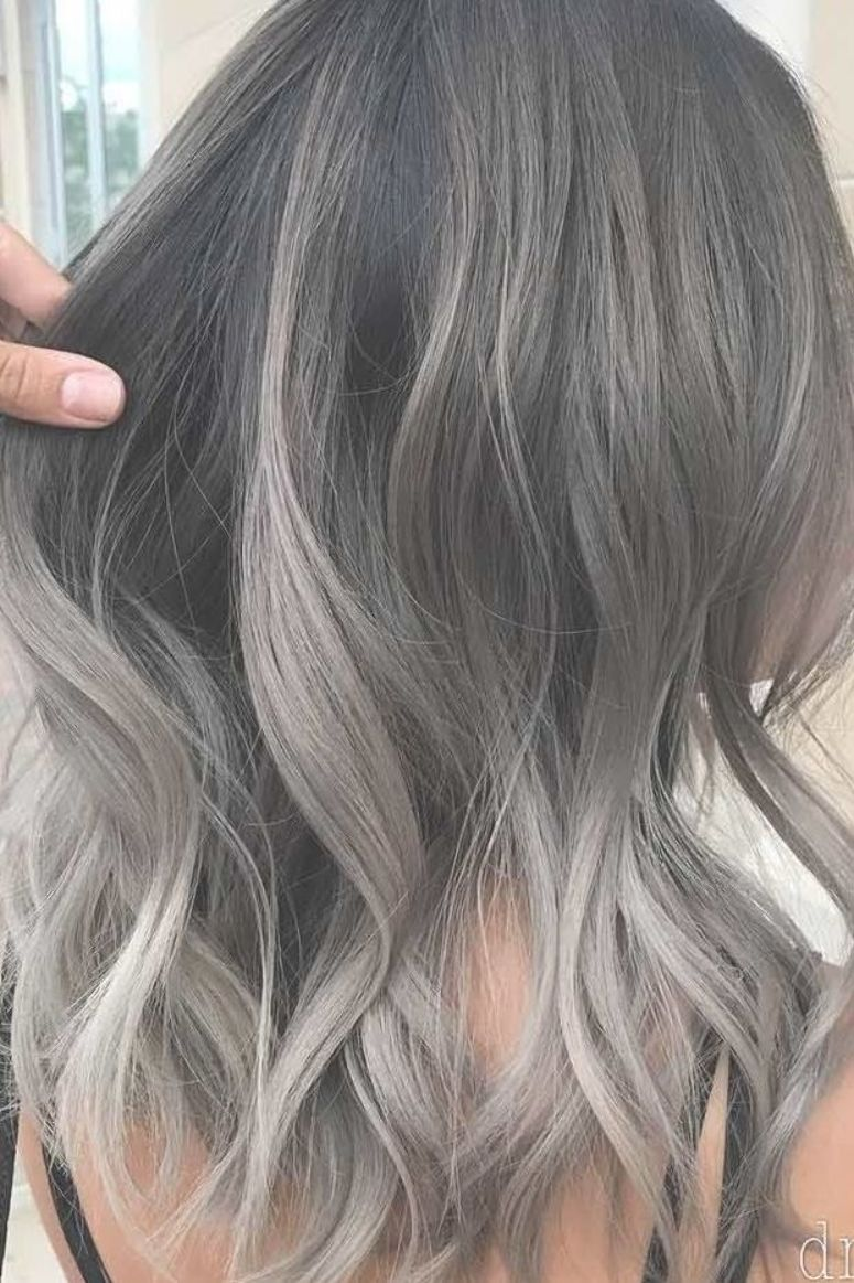 Trendy Grey Silver Hairstyles For Spring Lilostyle In 2020 Hair Styles Grey Hair Color Ash Blonde Hair