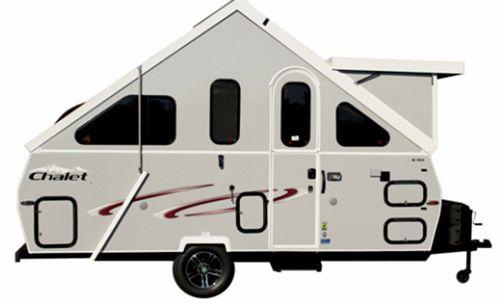 2014 Chalet Ltw Popup A Frame Travel Trailer A Frame Camper