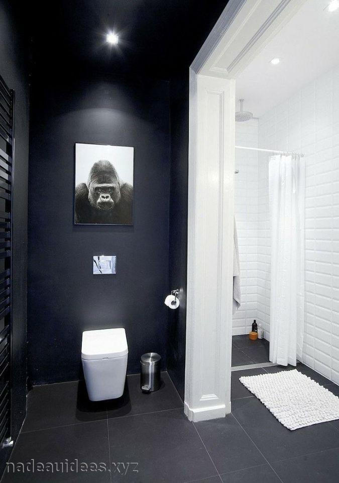 Couleur De Salle De Bain Noir Et Blanc Salle de bains Pinterest