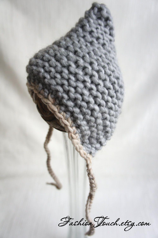 Baby Bonnet | crochet / knit baby\'s & children | Pinterest | Gorros ...