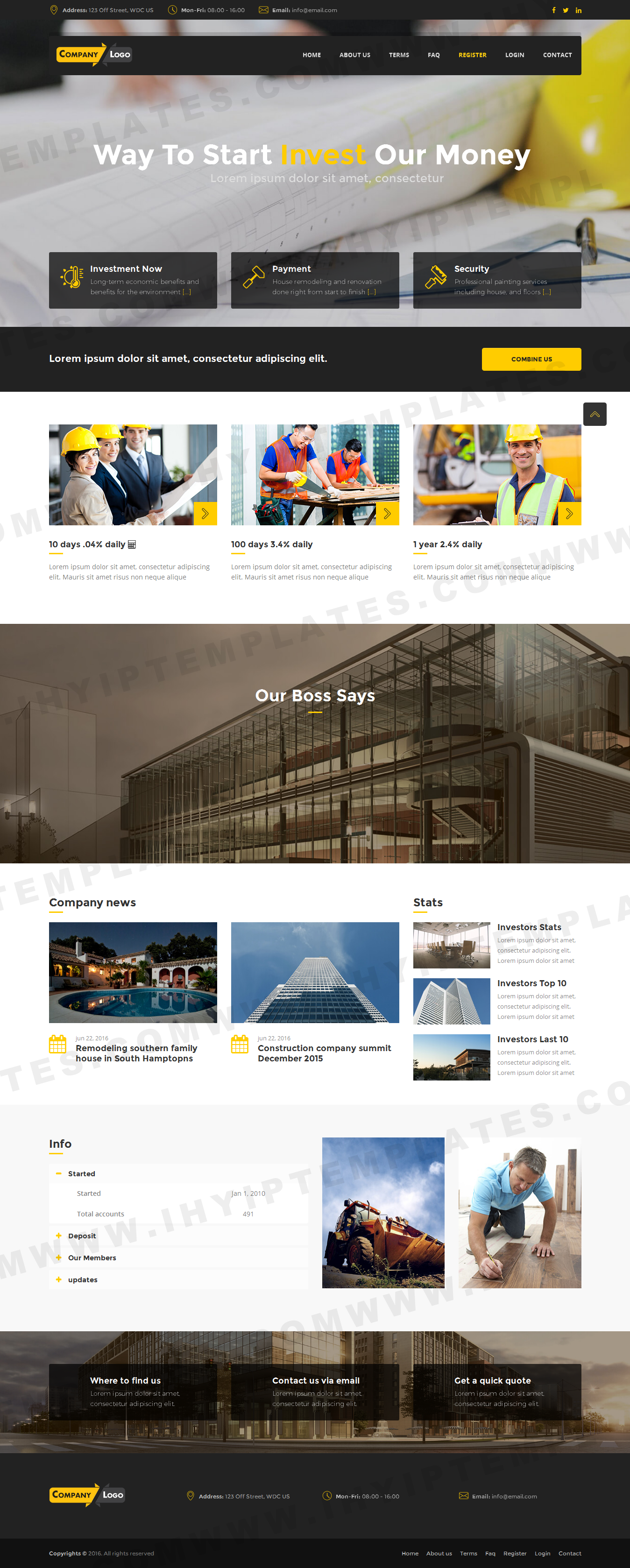 ihyip templates launched new hyip web design hyip script template
