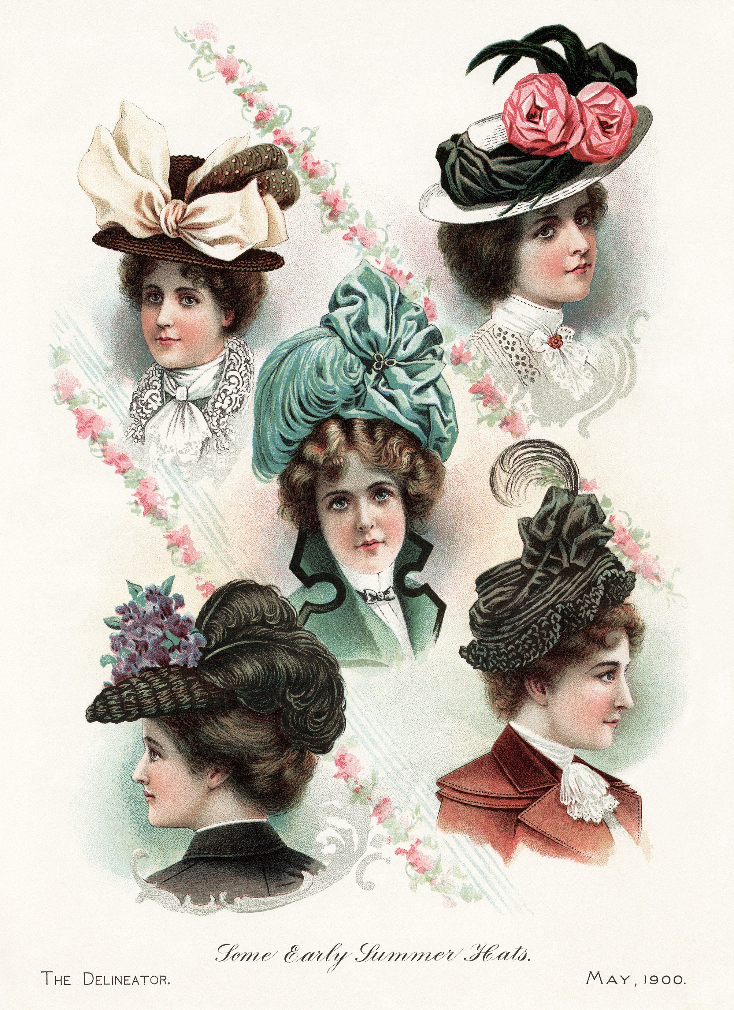 Fashion style Fashion victorian hats for woman