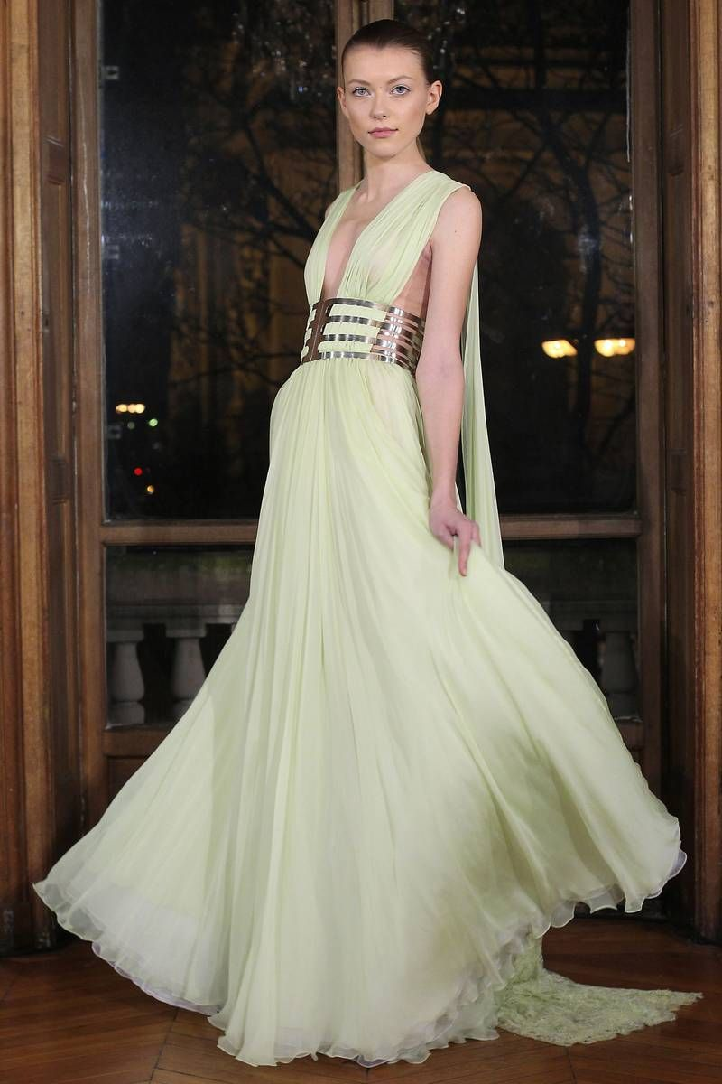 Dany atrache spring couture fashion show glamour spring and
