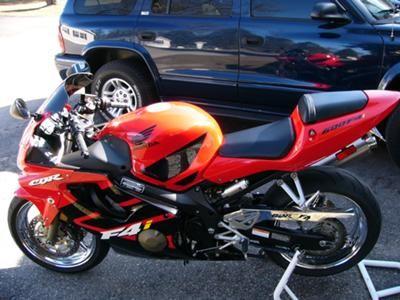 2001 Honda Cbr F4i 600cc I Have A 2001 Honda Cbr F4i 600 For Sale