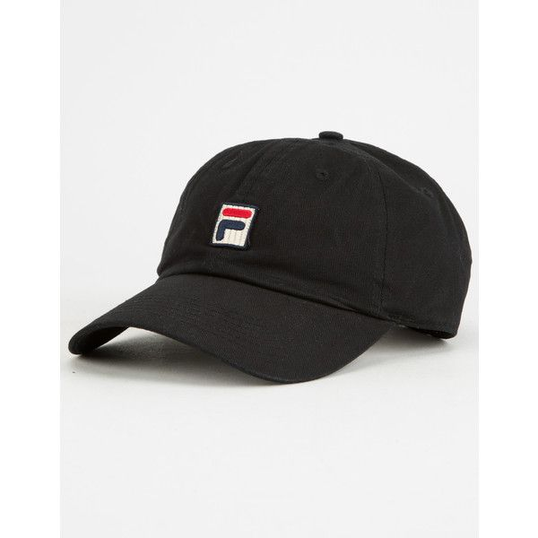 f62dab33a1b Fila Womens Dad Hat ( 25) ❤ liked on Polyvore featuring accessories ...
