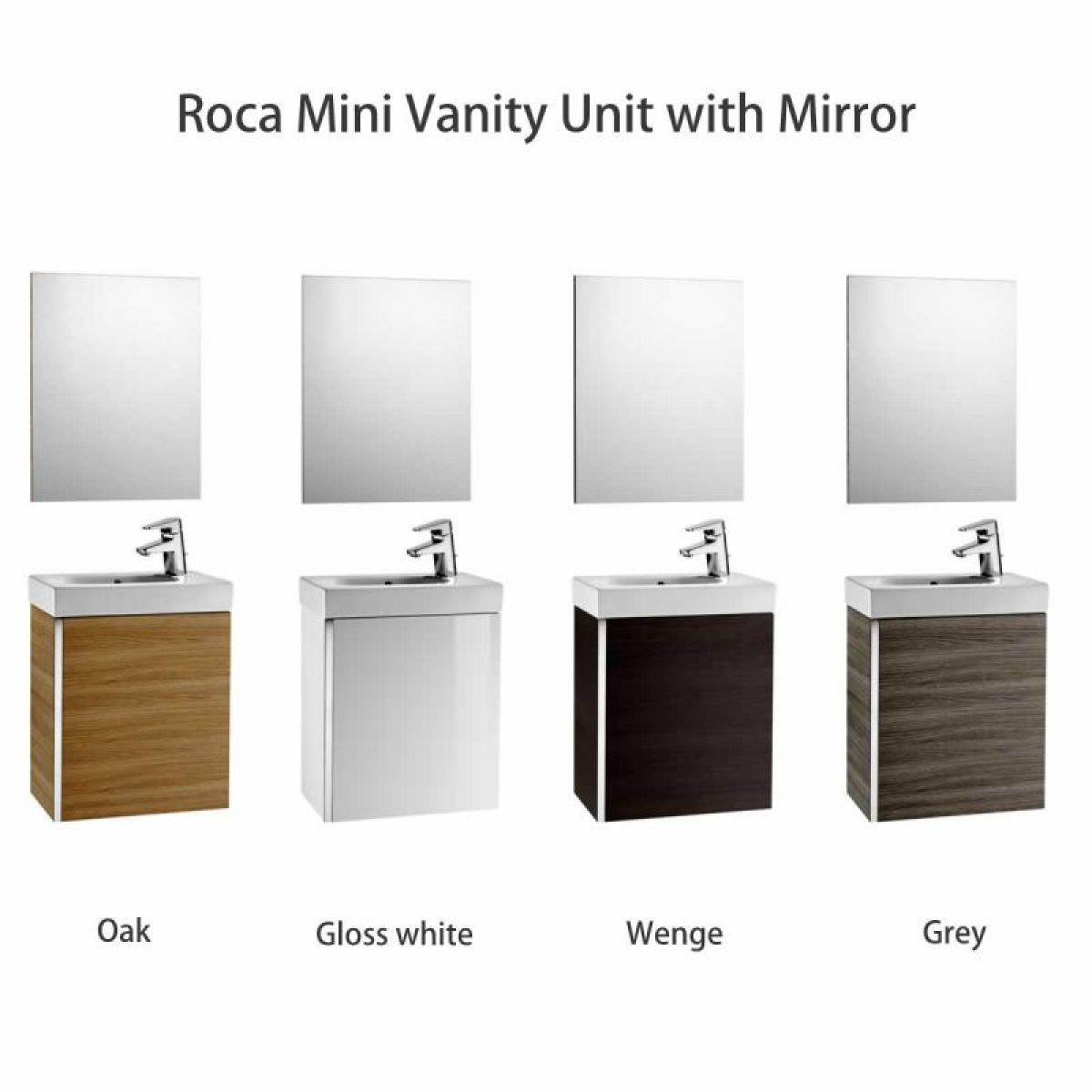 Roca Mini Vanity Unit with Basin | Vanity units, Vanities and ...