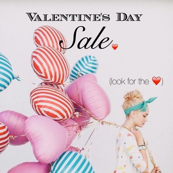 "❤️VALENTINES SALE❤️ Many Mark downs ...   Looks for the ""❤️"" Accessories"