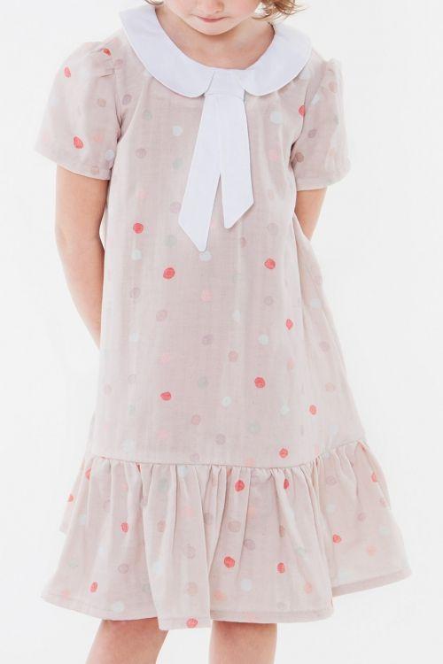 Volant kleid schnittmuster madchen