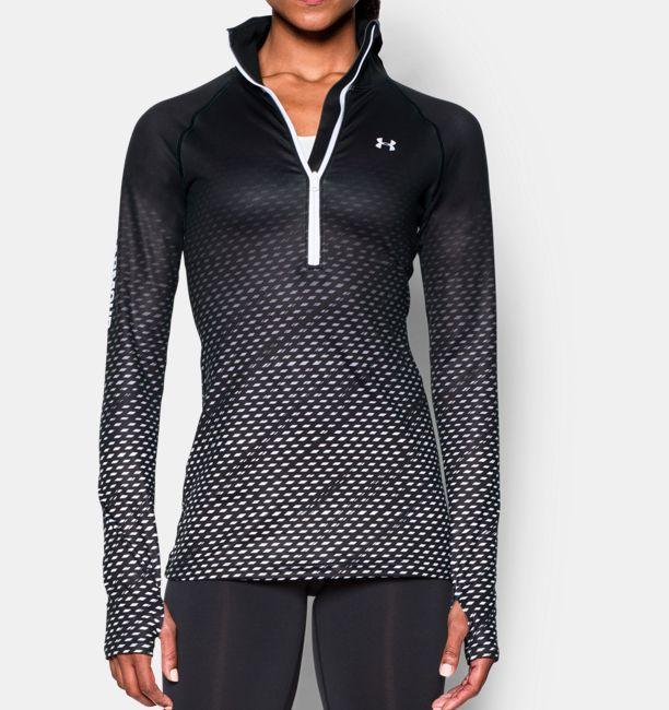 610230c901 Women's UA ColdGear® Cozy Sublimated 1/2 Zip | Under Armour US ...