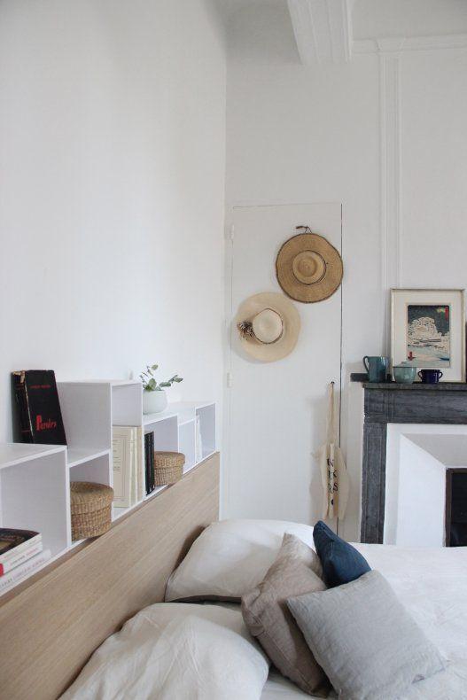 Notre Solution Pour Les Tables De Chevet Avec Images Deco Petite Chambre Meuble Tete De Lit Amenagement Chambre