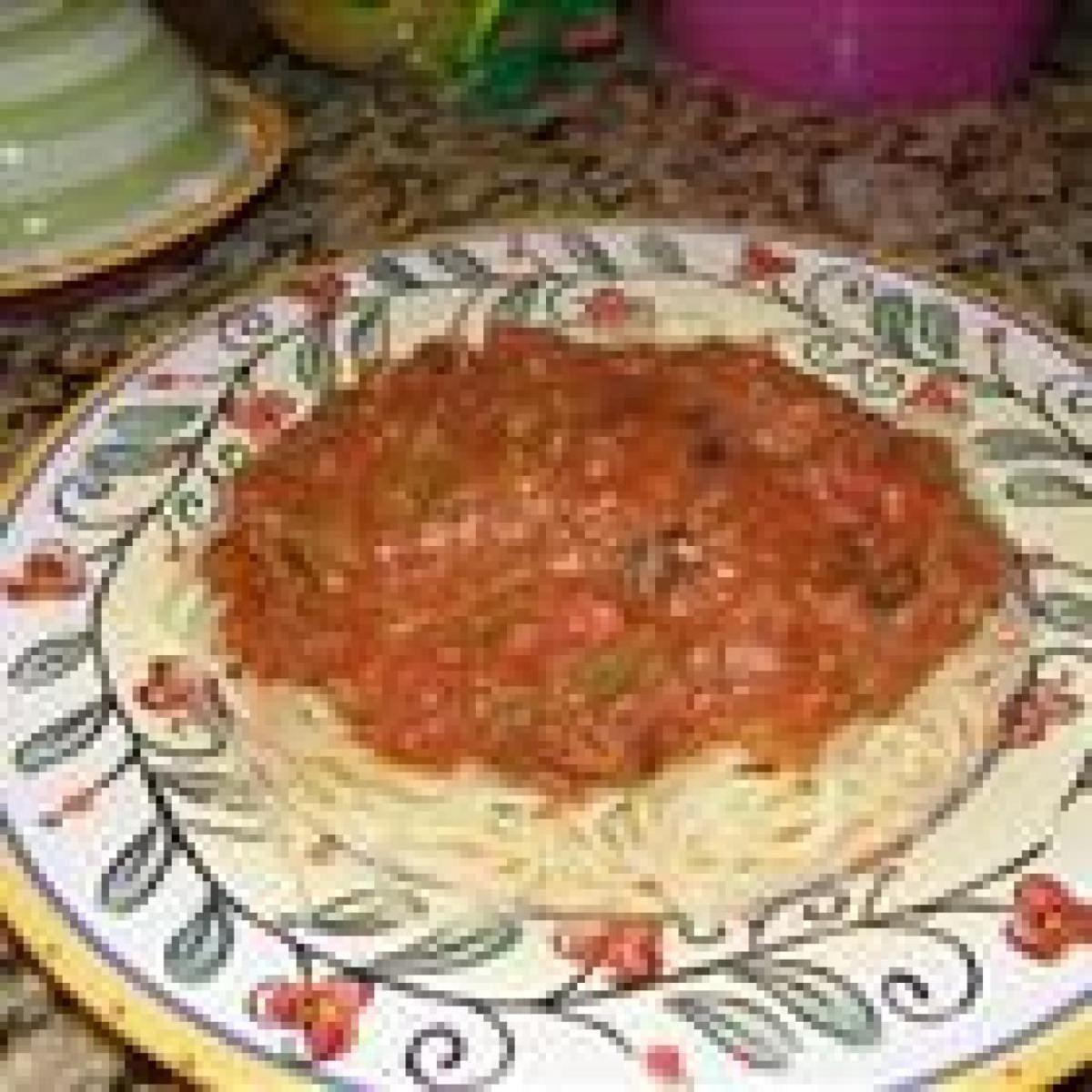 No salt spaghetti sauce recipe spaghetti sauce sauces and low just a pinch recipes no salt spaghetti sauce forumfinder Images