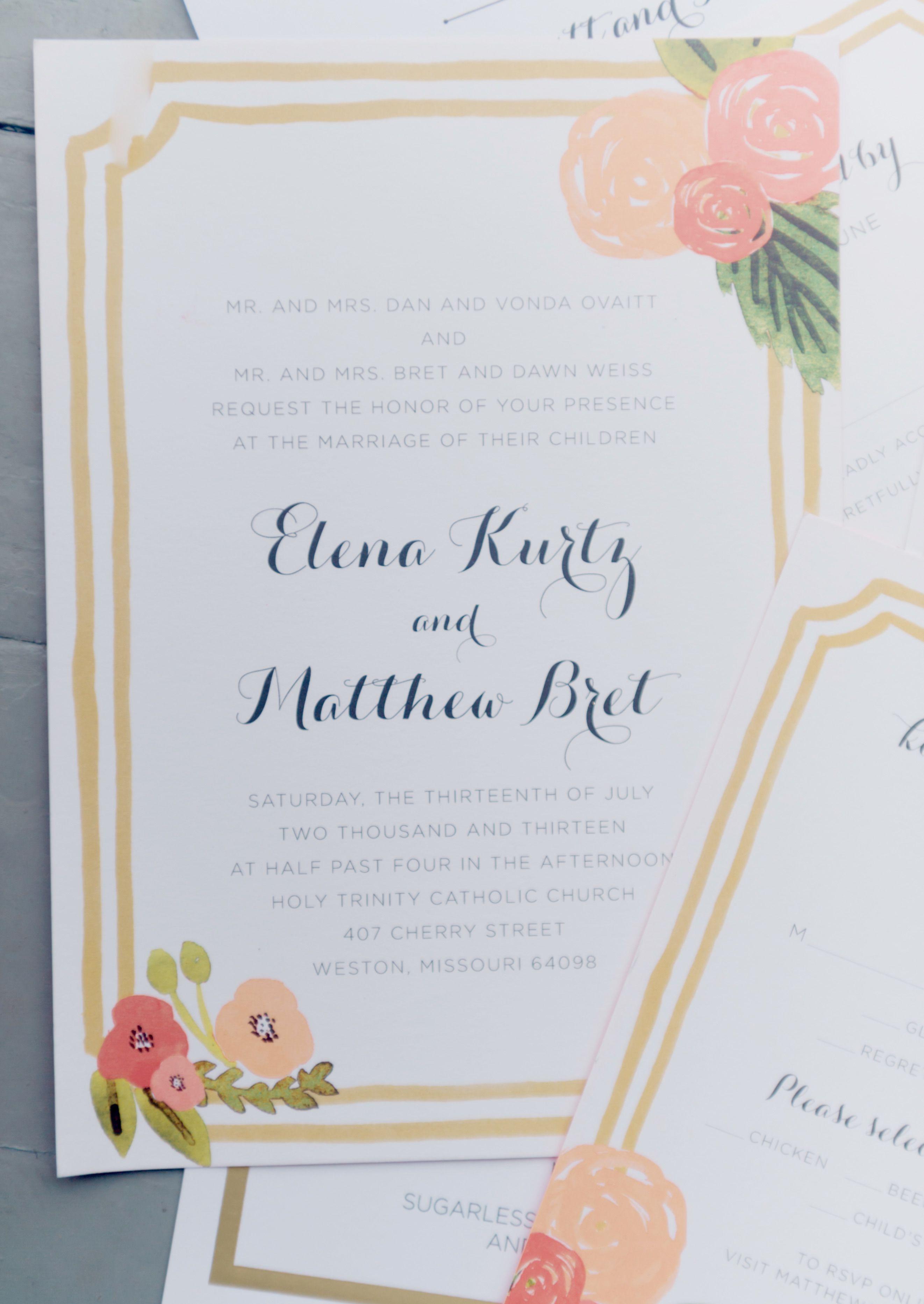 Kansas City Wedding From Emily Steffen Read More Http Www Stylemepretty
