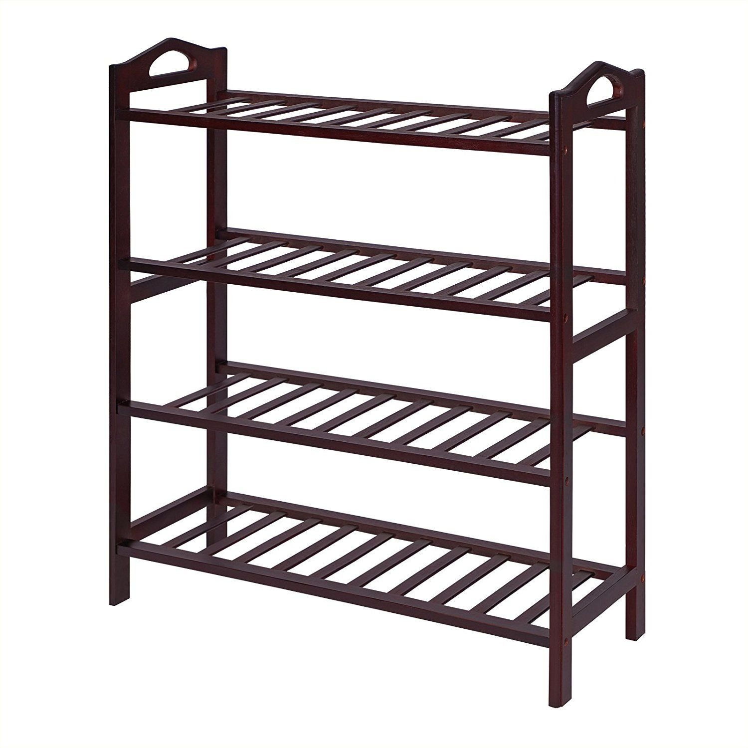 100 Natural Bamboo Environment Friendly And Sturdy 4 Tiers Bamboo Rack Storage Shelf For Shoes Bags Plan Shoe Rack Entryway Shoe Shelf Wooden Shoe Racks