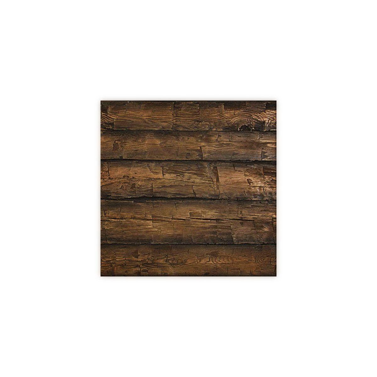 8 Inch W X 10 Inch H Hand Hewn Endurathane Faux Wood Siding Panel Sample Weathered Mahogany Wood Panel Siding Wood Siding Wood Siding Exterior