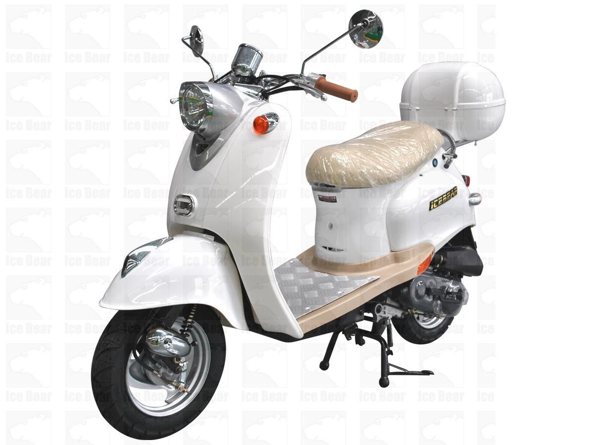 icebear 50cc 5 automatic scooter [ 1200 x 900 Pixel ]