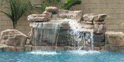 RicoRock 4 ft Standard Waterfall