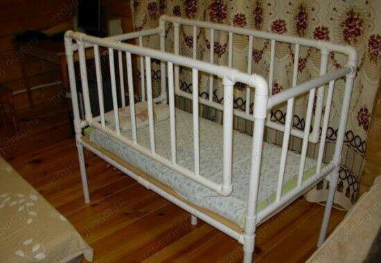 Pvc Crib Diy Projects Baby Cribs Cribs Baby Doll Crib