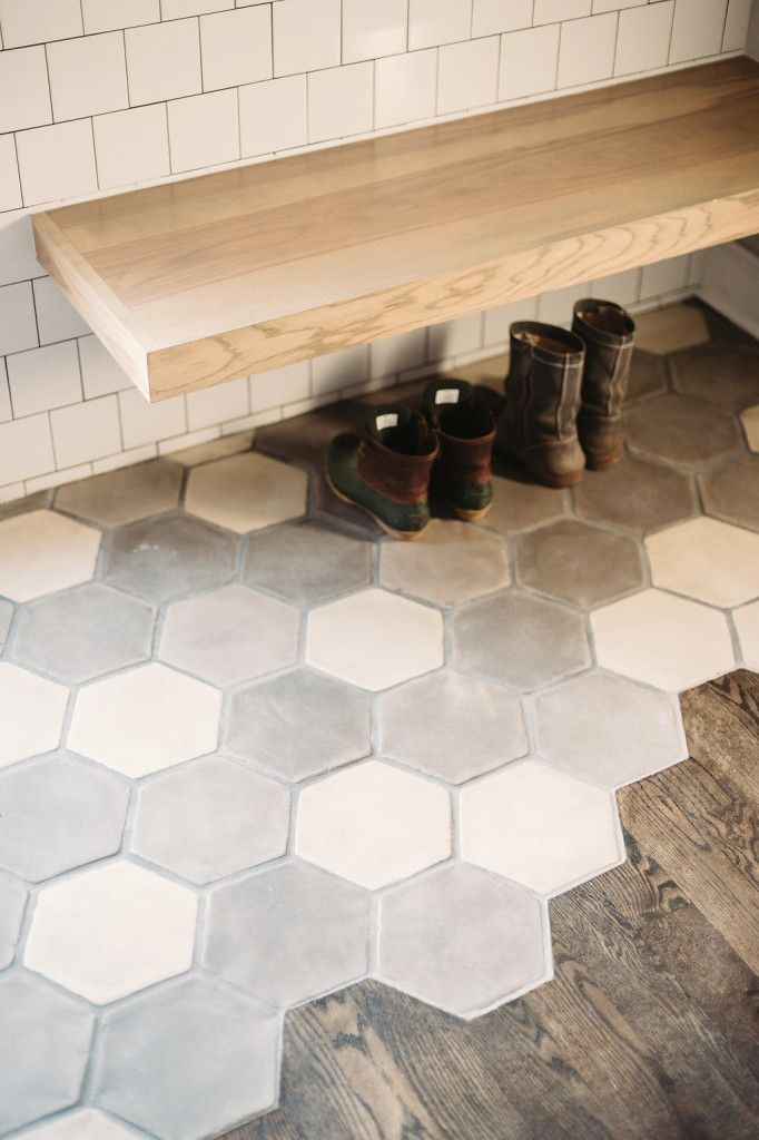 Kitchen Design Hexagon Contemporary But Warm Hexagon Tile Kitchen Floor Flooring Hexagon Tile Kitchen