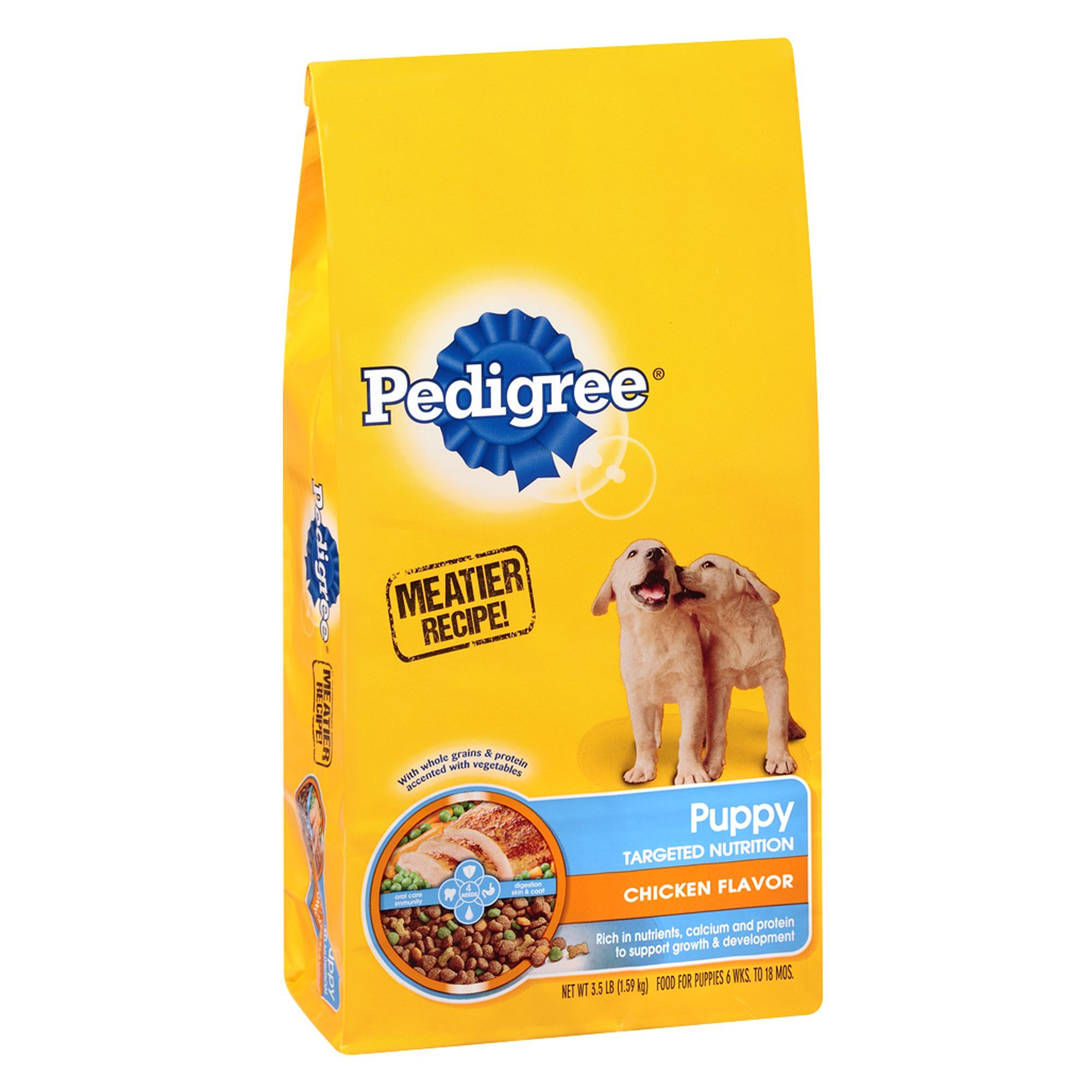 Pedigree Targeted Nutrition Puppy Food Chicken Size 3 5 Lb