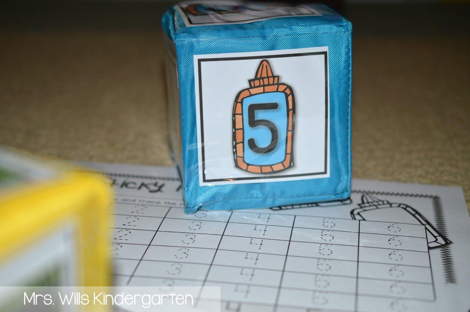 Kindergarten Differentiated Instruction Cube Activities