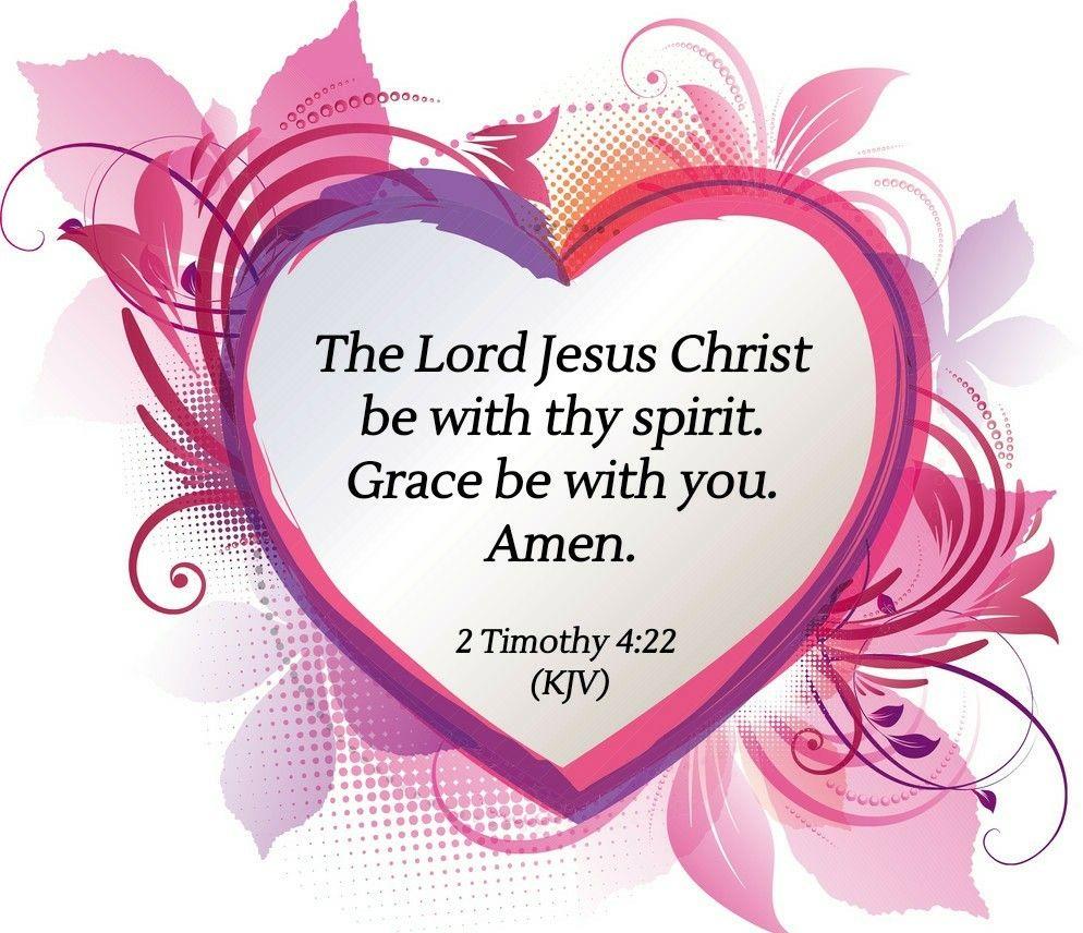 Image result  for 2 Timothy 4:22 kjv