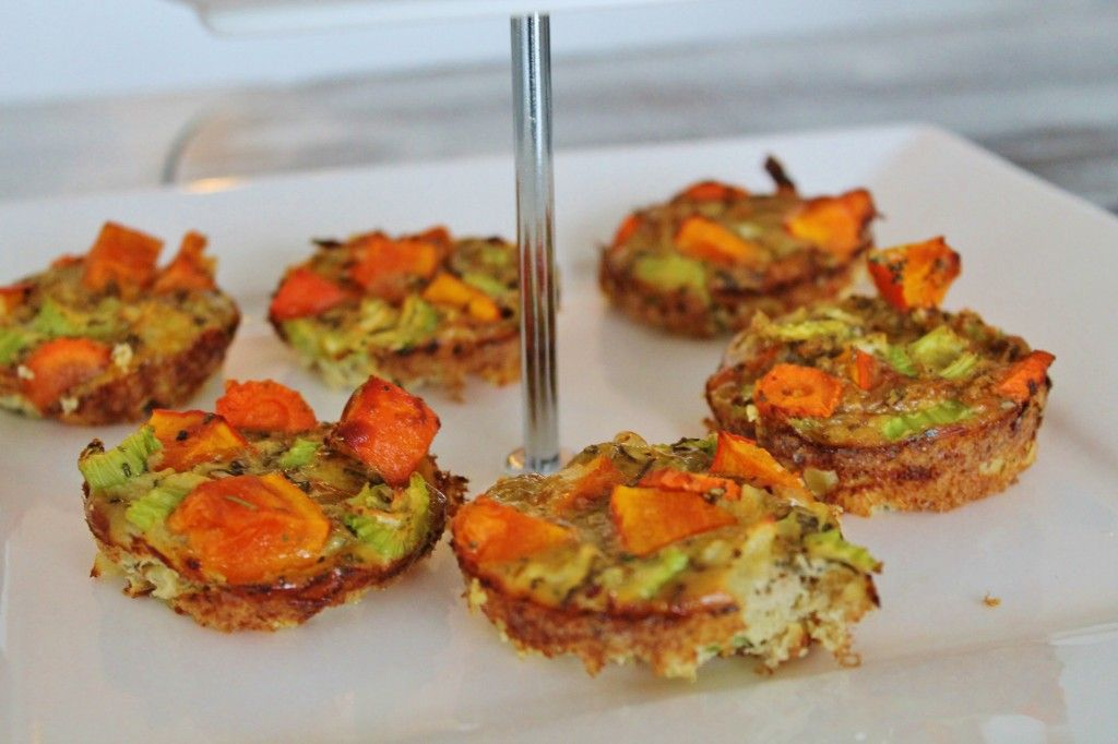 DeniChant | Food Of The Day – Healthy snack: Frittata cupcakes | http://denichant.nl