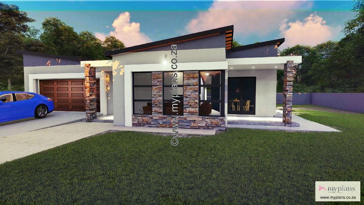 2 Bedroom House Plan Mlb 107 4s 2 Bedroom House Plans Tiny Modern House Plans House Plan Gallery