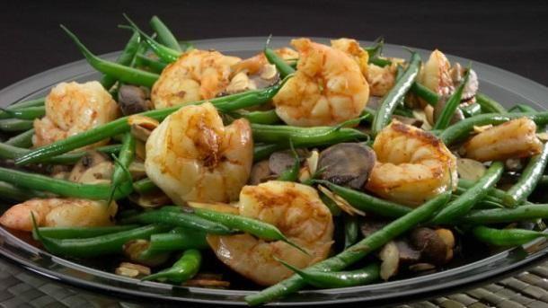 Sautéed Shrimp and Green Beans # food recipes