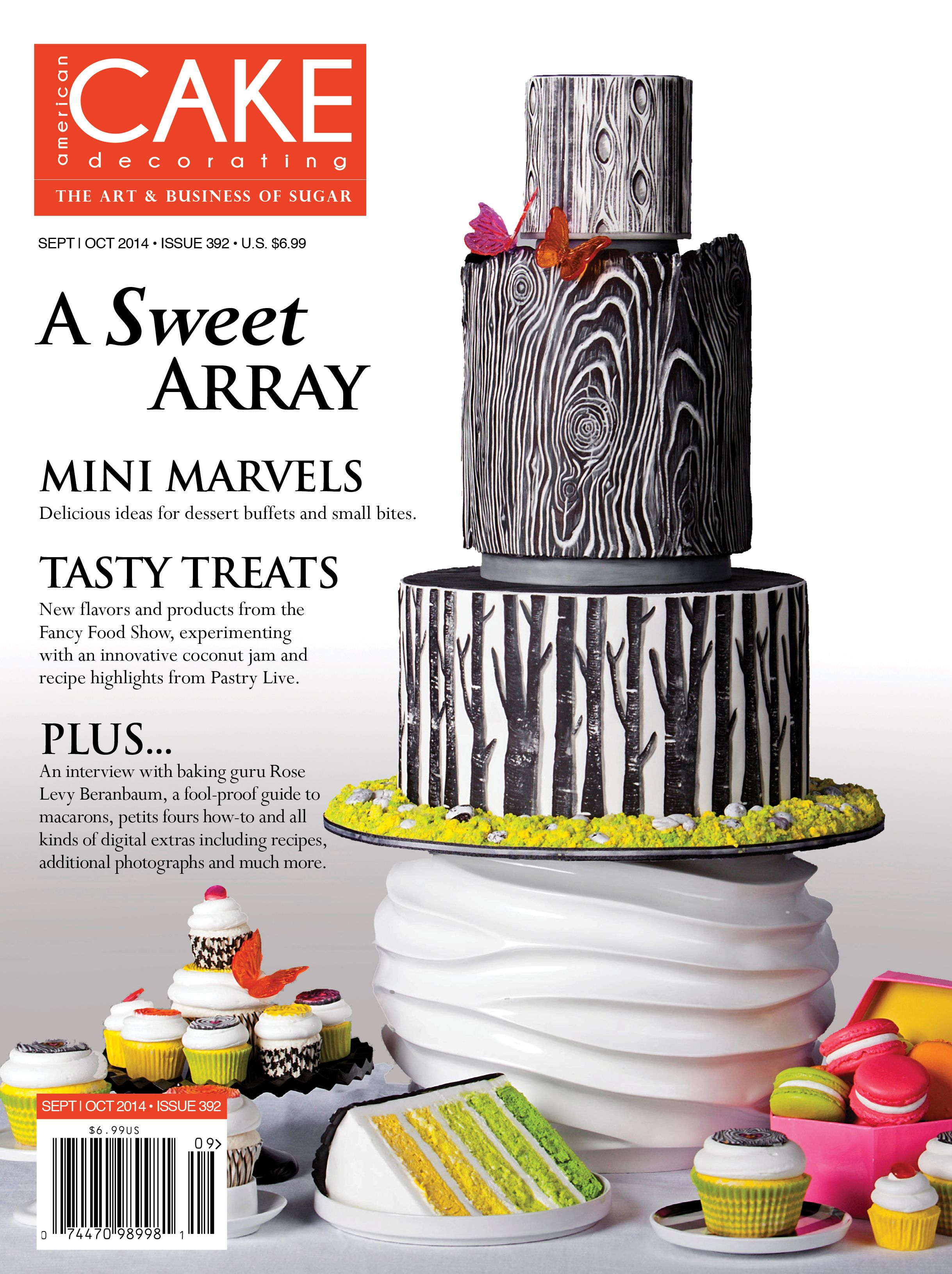 Sept/Oct 2014 Issue (With images) | Cake decorating magazine, American cake, Cookie recipes ...