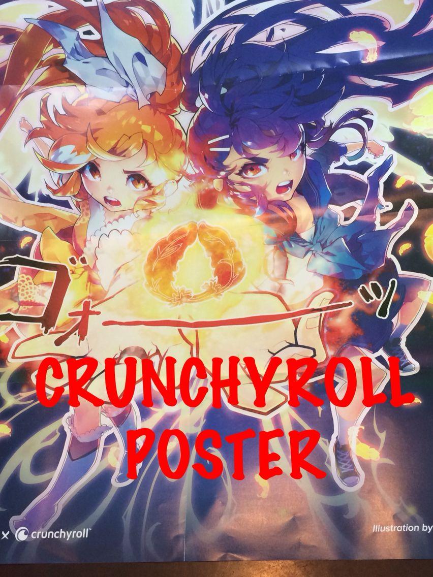CRUNCHYROLL Crunchyroll, Poster, Anime