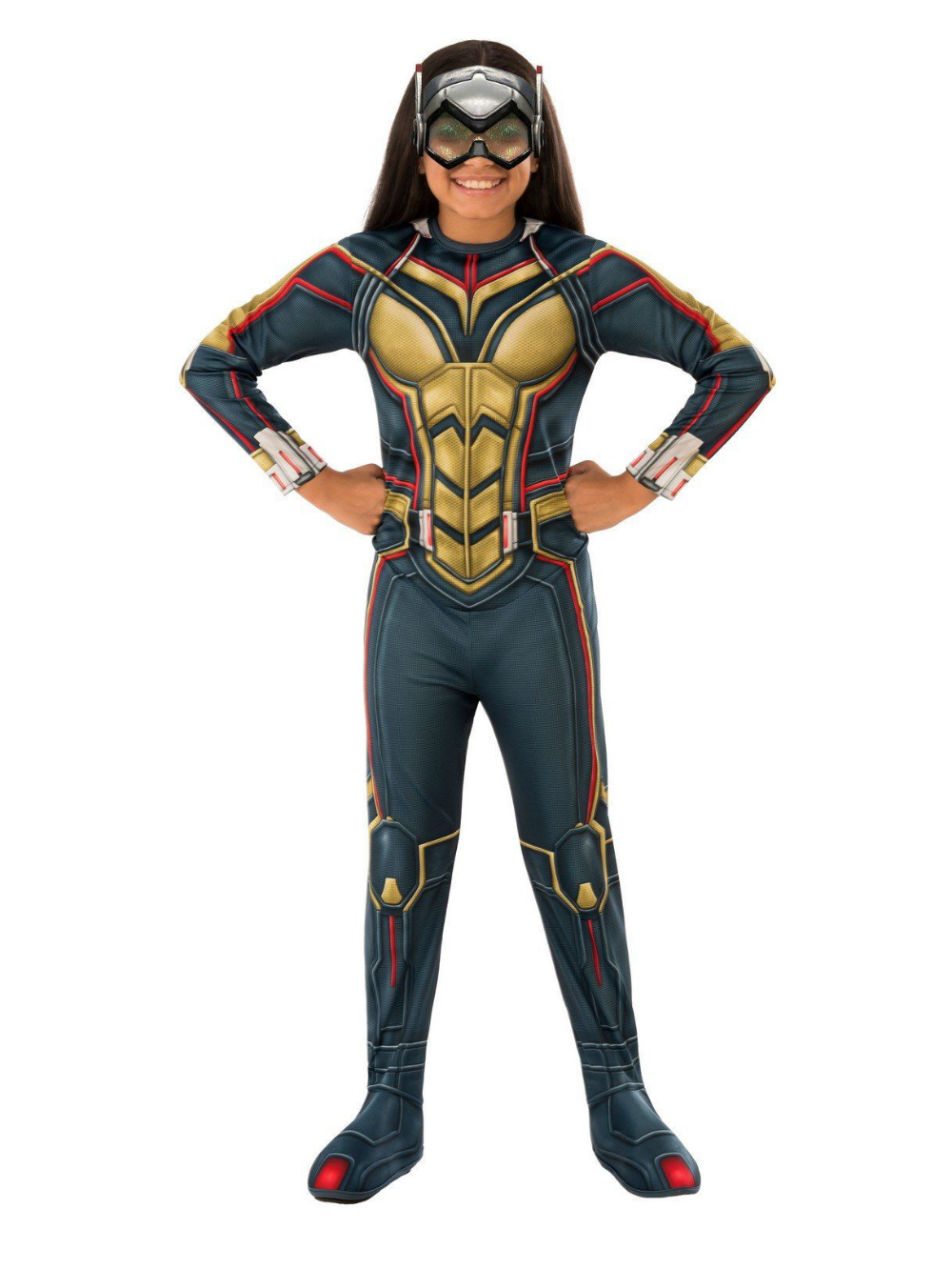 Wasp Ant-Man Marvel Superhero Avengers Fancy Dress Up Halloween Child Costume