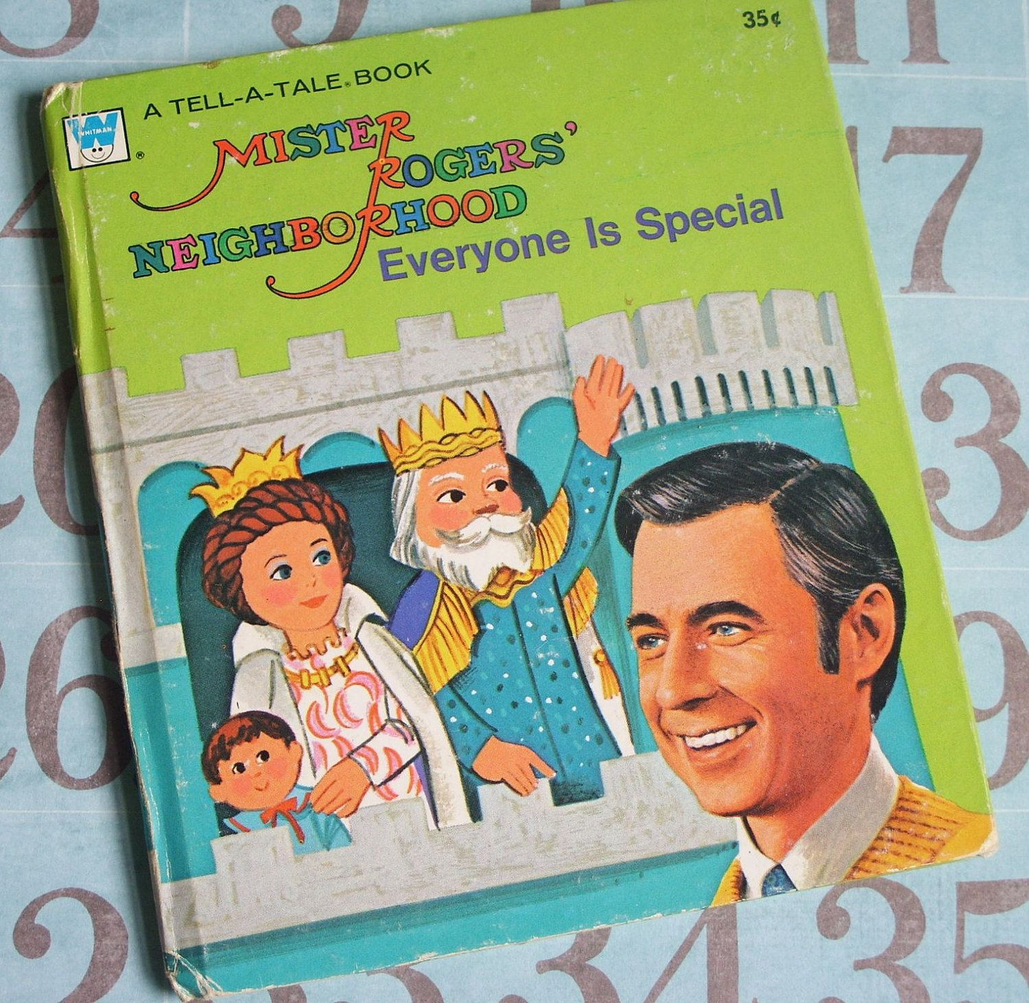 Mister Rogers Neighborhood Everyone Is Special Tell A Tale Book 1975 Mister Rogers Neighborhood Mr Rogers Rogers