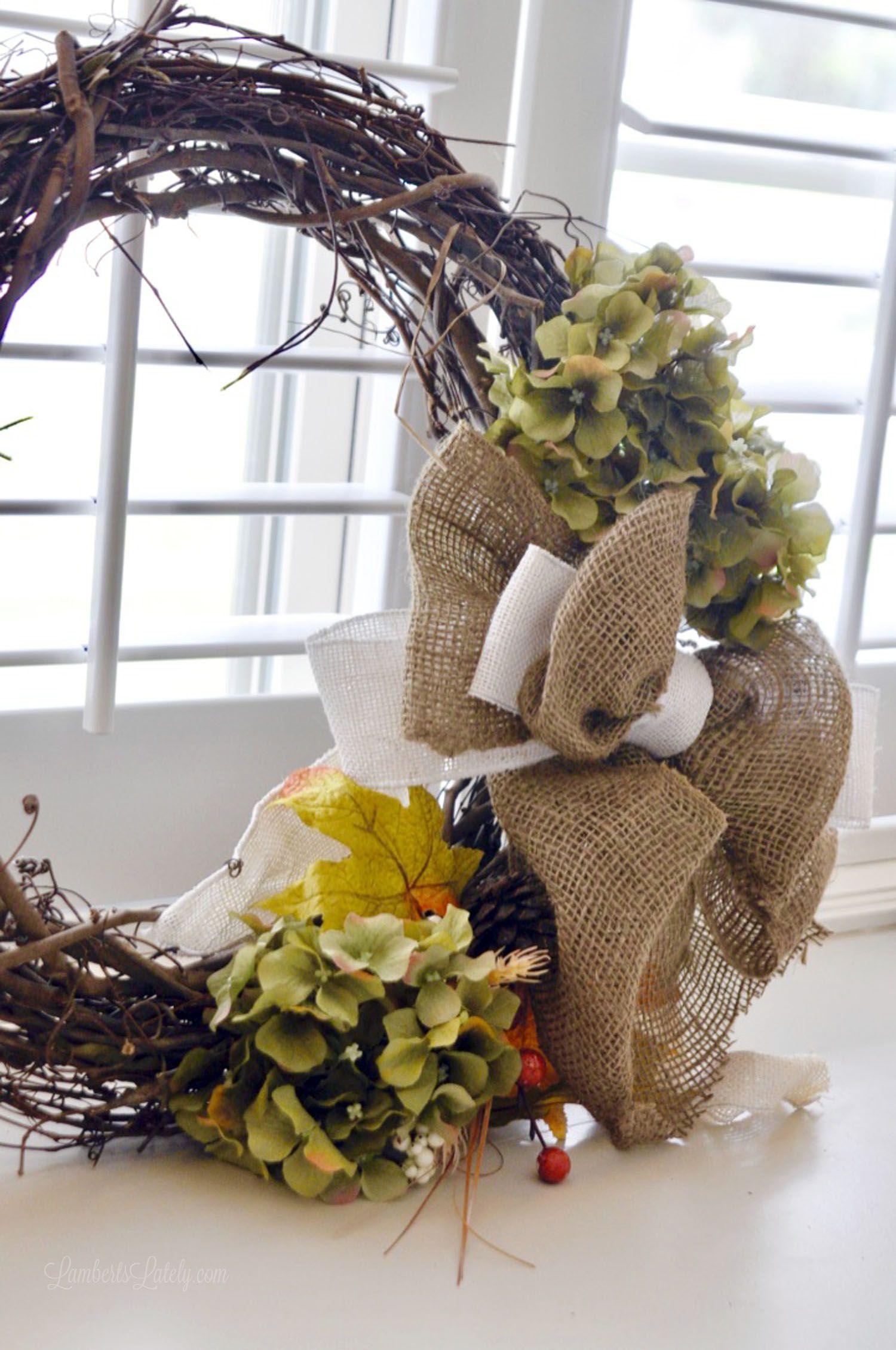 Photo of An Easy DIY Fall Wreath