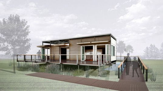 Sun Powered Re Focus House Set To Shine At Europe S Solar Decathlon Architecture For 3352 House Solar House Sun Power