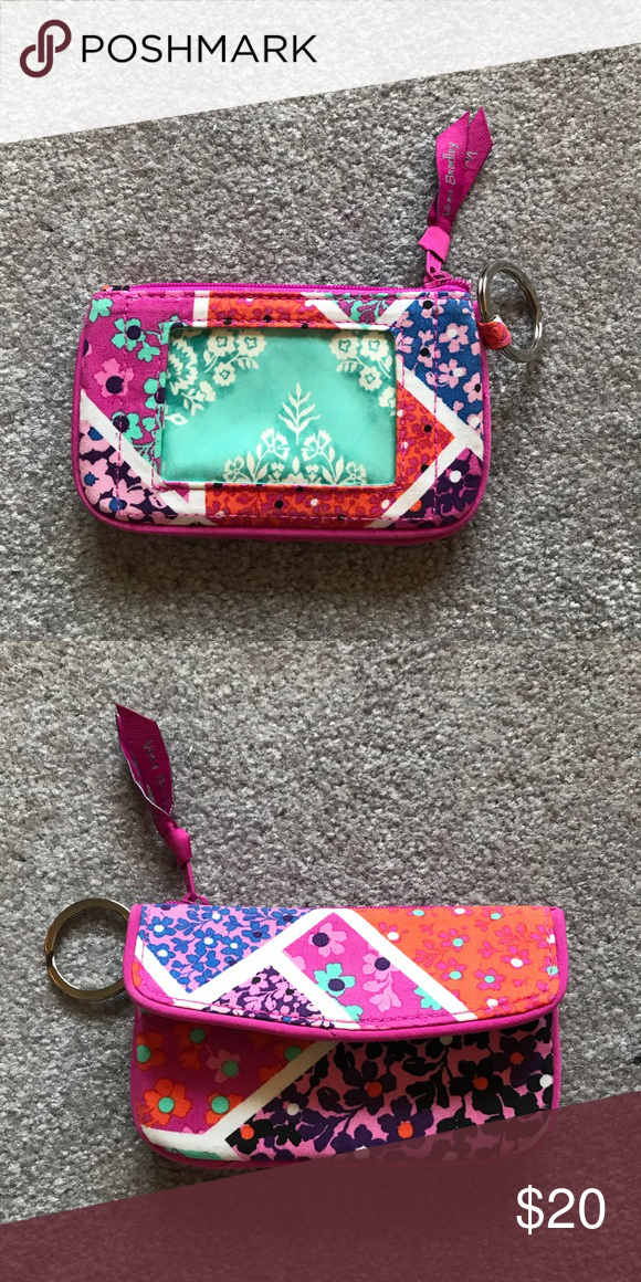 b3a3c3cb615 Vera Bradley ID Wallet Rarely used, Perfect condition, great for college  and high school students! Smoke free home Victoria's Secret Bags Wallets