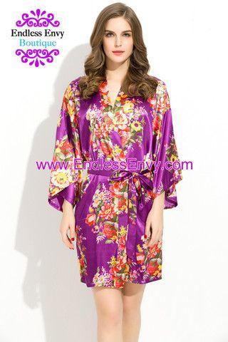 lilac bridesmaid robes - 333×426