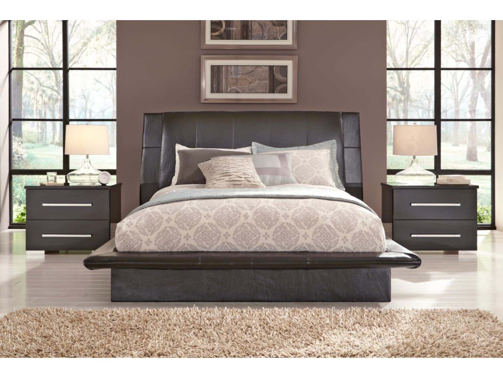 Dimora Queen Upholstered Bed  Value City Furniture  Furniture Classy Value City Furniture Bedroom Sets 2018