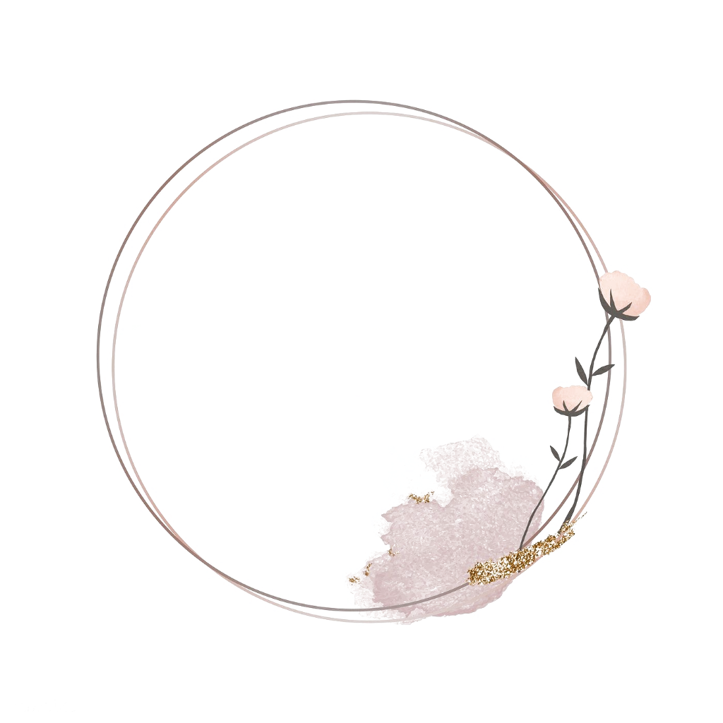 Blooming Round Floral Frame Vector Premium Image By Rawpixel Com Marinemynt Panda Coloring Pages Bloom Scenic Wallpaper