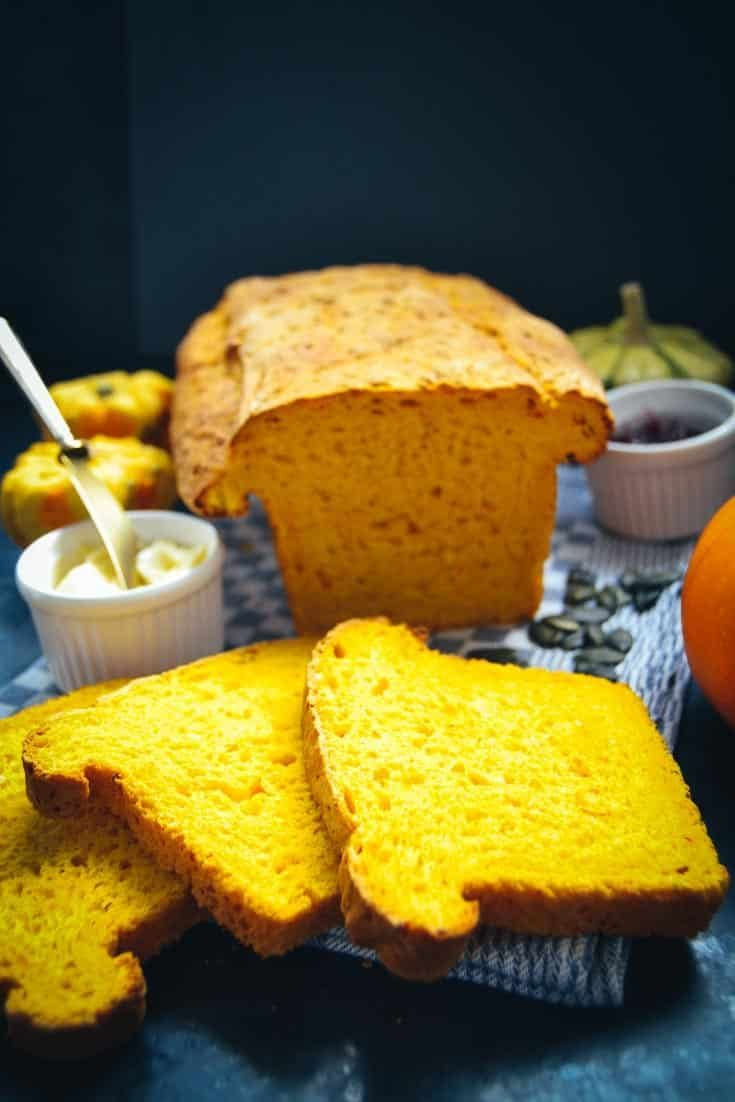 Most recent Snap Shots Pumpkin Bread Recipe Pumpkin Cutlets with Hokkaido Pumpkin  Thoughts   bread