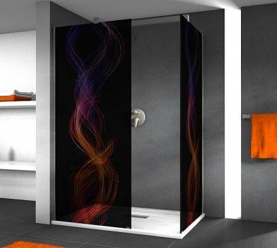 klebefolie f r duschkabine m bel wohnen duschkabinen folien 318857 klebefolien f r. Black Bedroom Furniture Sets. Home Design Ideas